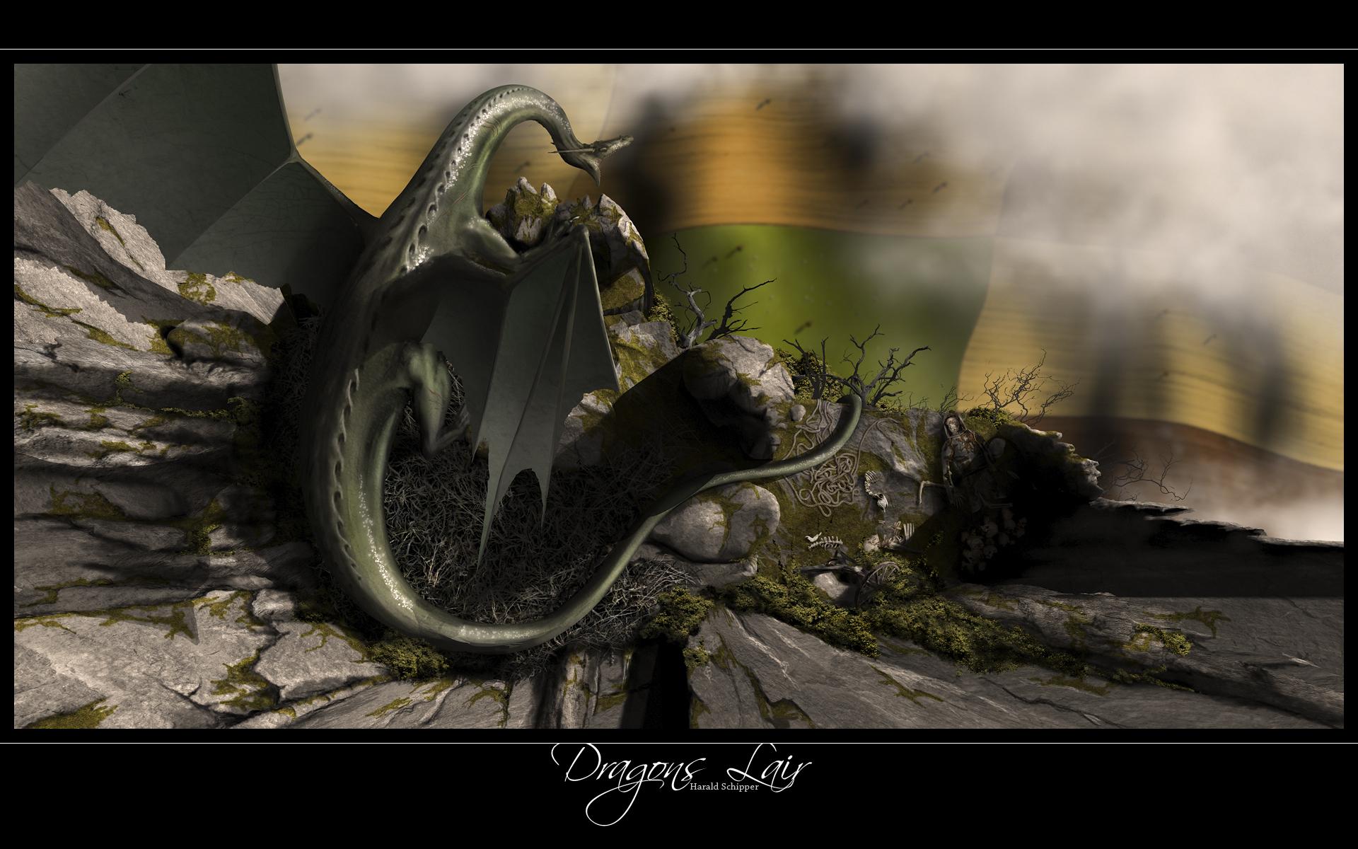 Dragon lair wallpaper 103507 for Dragon s lair